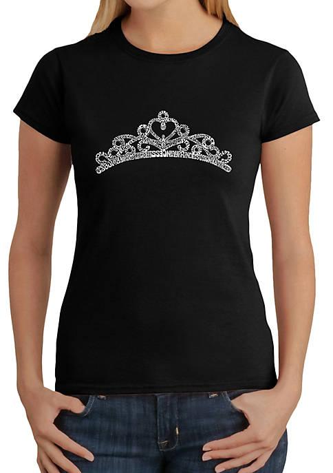 LA Pop Art Word Art T-Shirt