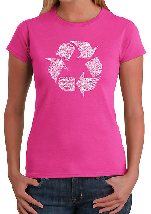 Word Art T-Shirt - 86 Recyclable Products