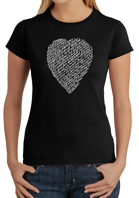 Word Art T-Shirt - William Shakespeares Sonnet 18