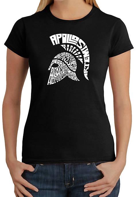 Word Art T-Shirt - Spartan