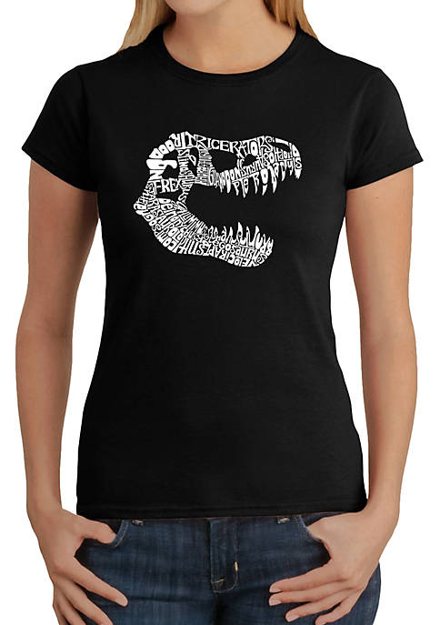 Word Art T-Shirt - T Rex
