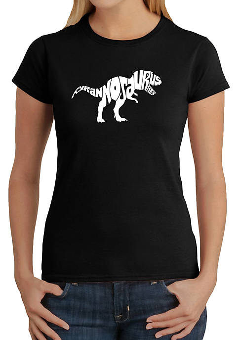 Word Art T-Shirt - Tyrannosaurus Rex