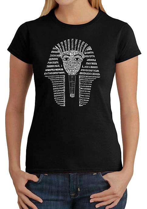 Word Art T-Shirt - King Tut
