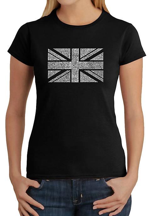 Word Art T-Shirt - Union Jack