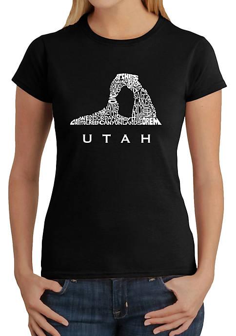 Word Art T-Shirt - Utah