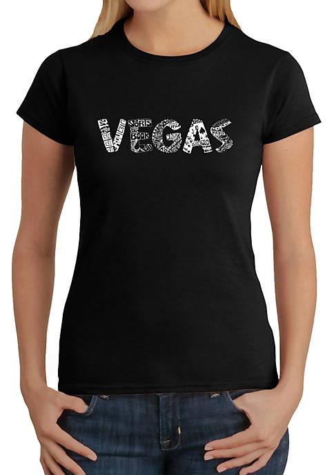 Word Art T-Shirt - Vegas