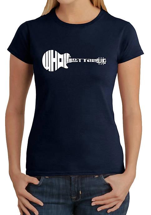 Word Art T-Shirt - Whole Lotta Love