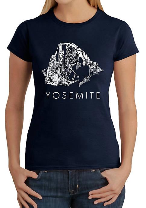 Word Art T-Shirt - Yosemite