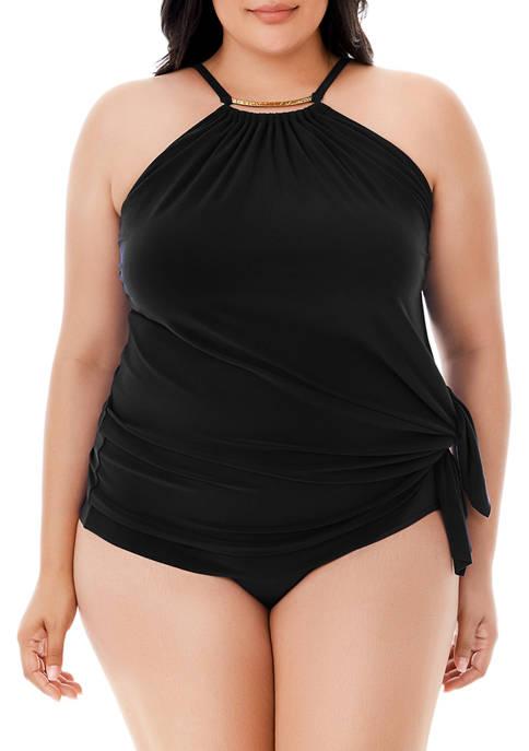 Magicsuit Plus Size Parker Slimming Control Swim Dress