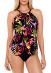 Oasis Jill Flyaway One Piece Swimsuit