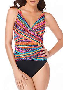 Trim Shaper Megan Confetti One Piece Swimsuit