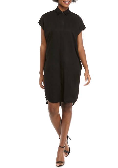 Womens Oversize Shirt Dress