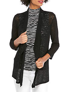 THE LIMITED Sheer Lightweight Cardigan