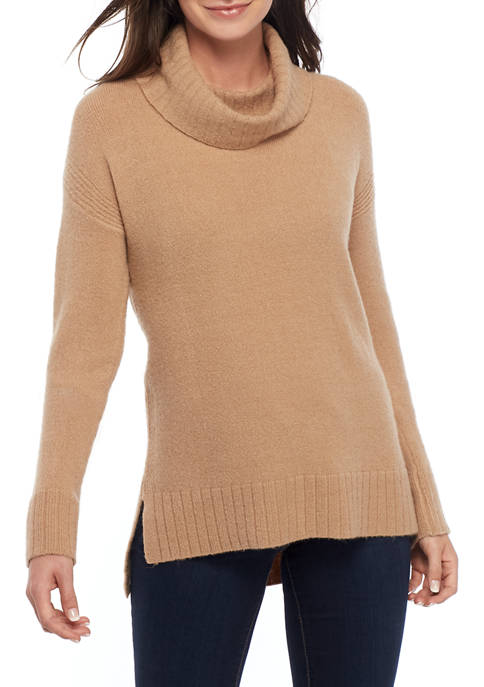 THE LIMITED Womens Cozy Turtleneck Tunic