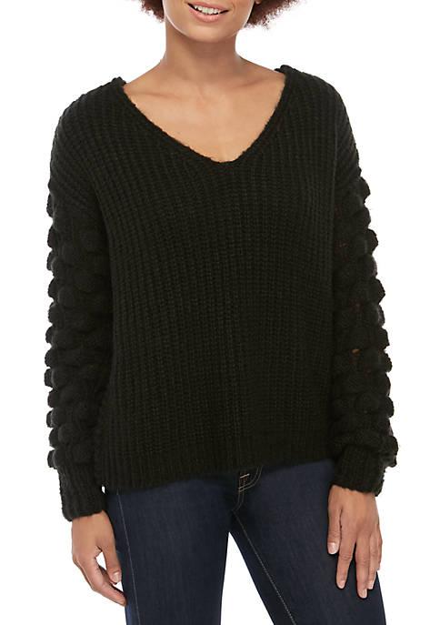 Kaari Blue™ Popcorn Twist Back Sweater