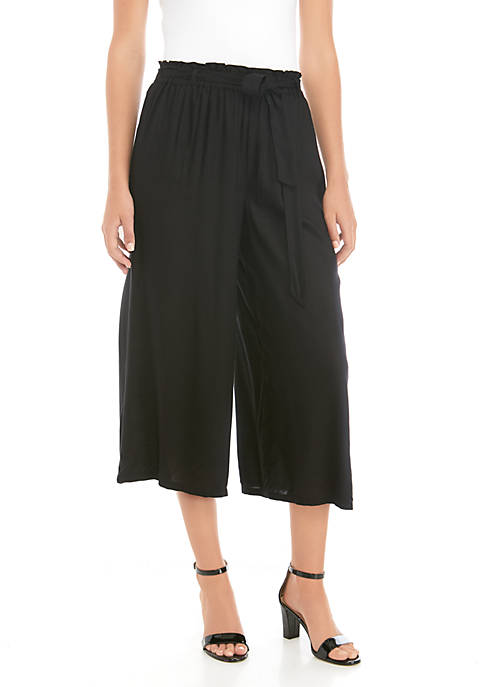 THE LIMITED Paper Bag Ankle Cropped Palazzo Pants