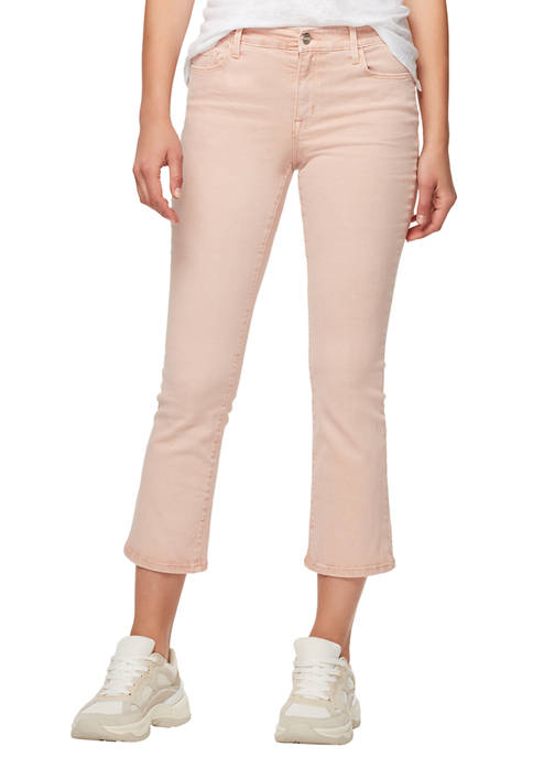 Sanctuary Denim Womens Connector Kick Crop Jeans
