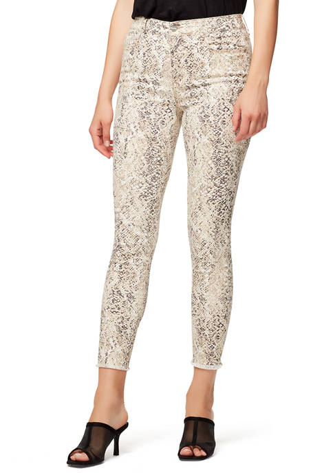 Womens Social Standard High Rise Skinny Ankle Jeans