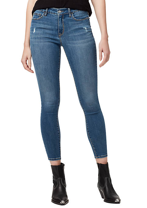 Sanctuary Denim Womens Social Standard Distressed Skinny Ankle