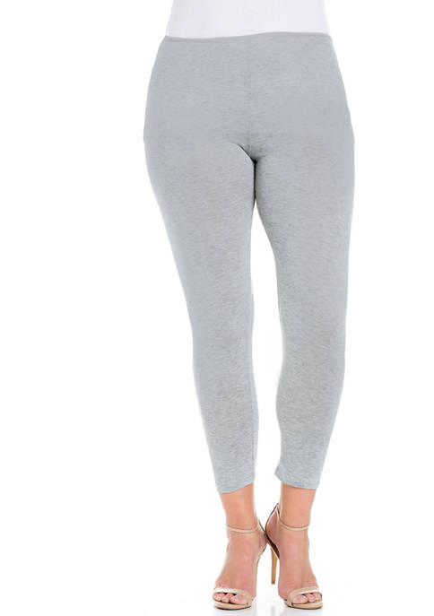 Plus Size Comfortable Ankle Length  Leggings