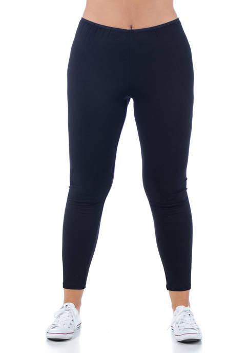 24seven Comfort Apparel Plus Size Comfortable Ankle Length