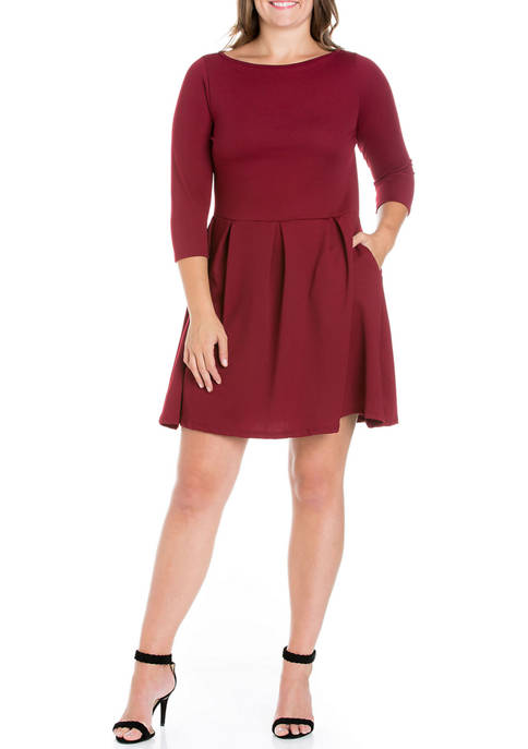 24seven Comfort Apparel Plus Size Perfect Fit and
