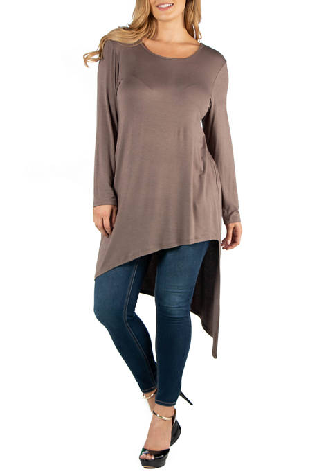24seven Comfort Apparel Plus Size Full Length Long