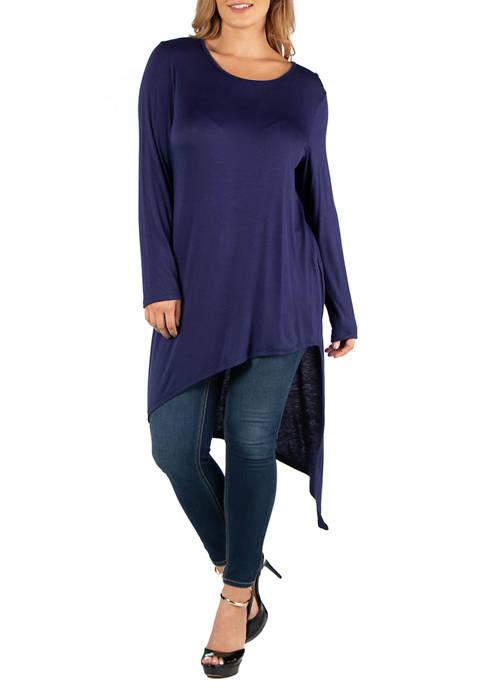 24seven Comfort Apparel Plus Size Full Length Long