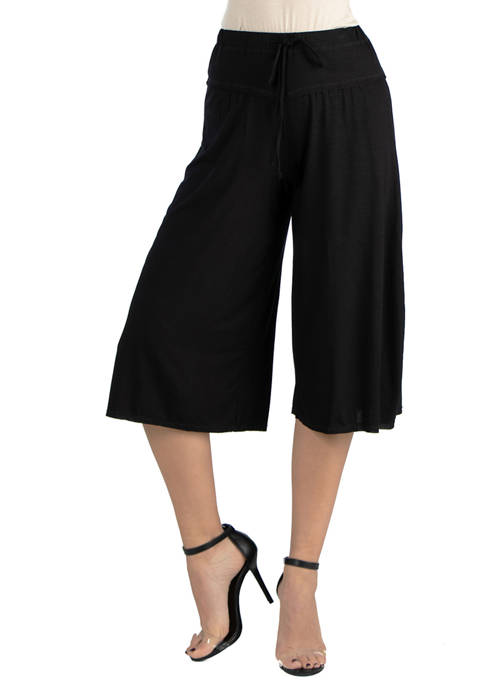 24seven Comfort Apparel Womens Loose Fit Drawstring Pants