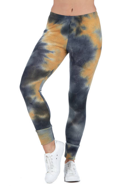 24seven Comfort Apparel Womens Tie Dye Print Fitted