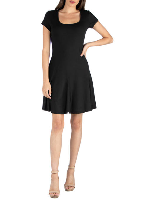 Womens Knee Length Mini Dress