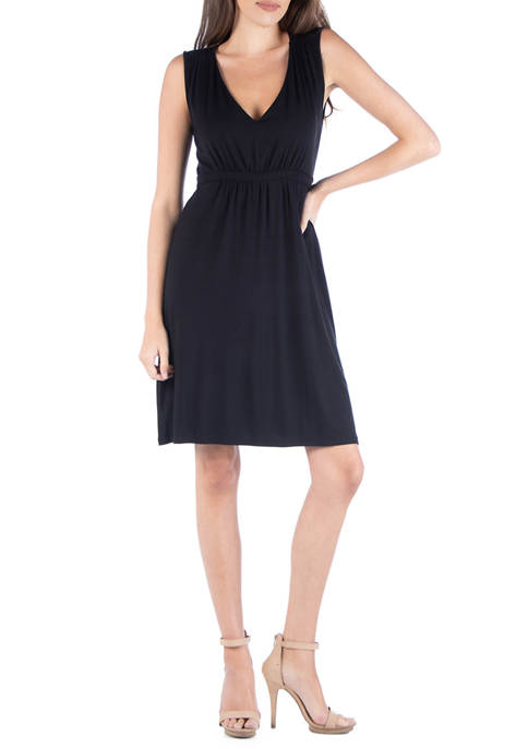 Womens Sleeveless Cocktail Dress