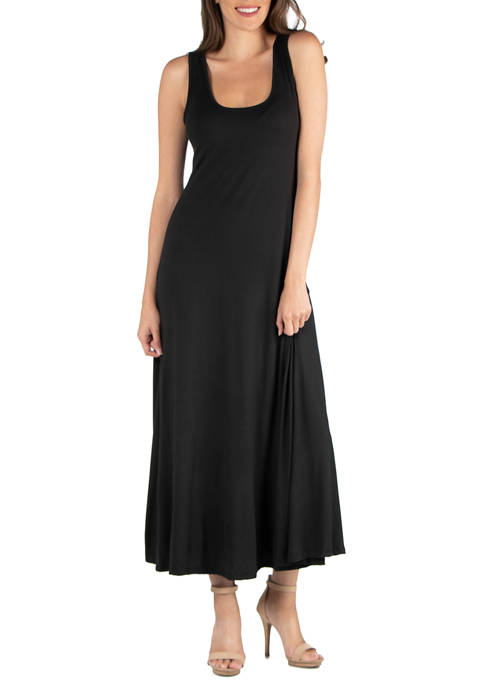 24seven Comfort Apparel Womens Slim Fit A Line