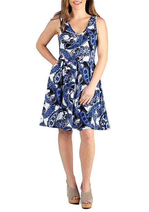Fit and Flare Pocket Dress