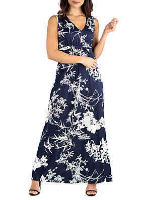 0caa4ca89 Maxi Dresses: Floral, Long Sleeve, Off-the-Shoulder & More | belk