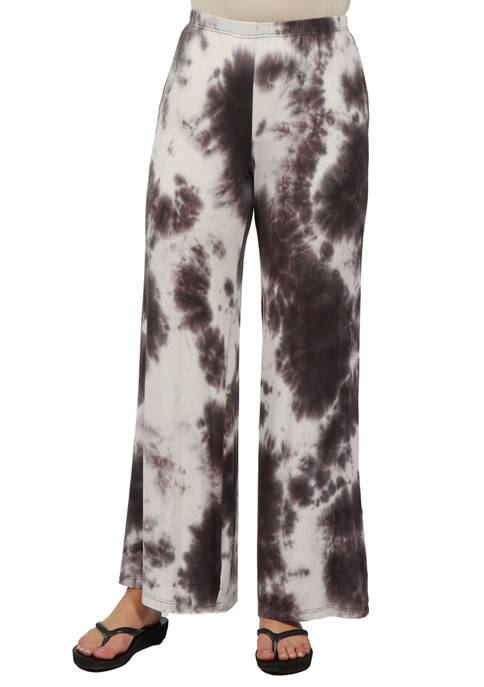 24seven Comfort Apparel Womens Comfortable Palazzo Pants