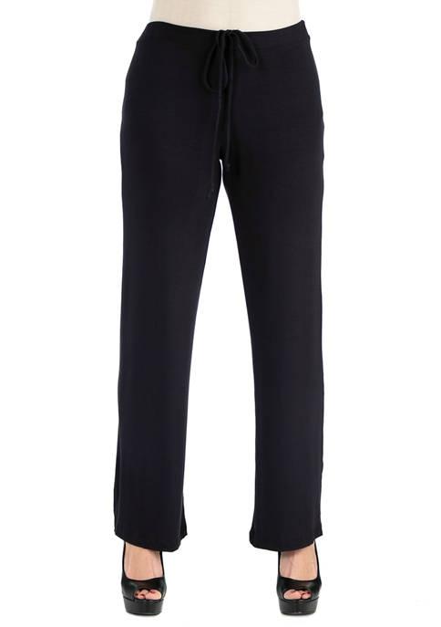 Womens Comfortable Drawstring Lounge Pants