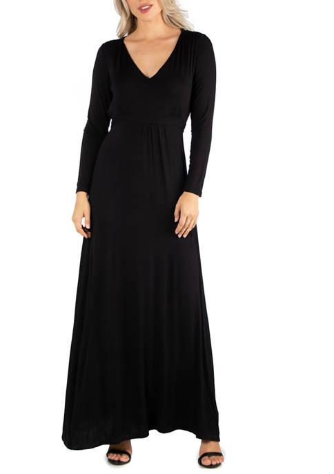 24seven Comfort Apparel Womens Semi Formal Long Sleeve