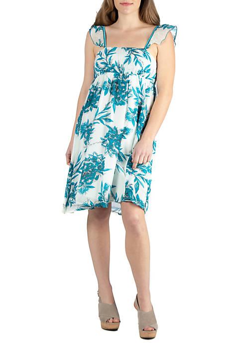 Sleeveless Cotton Summer Dress