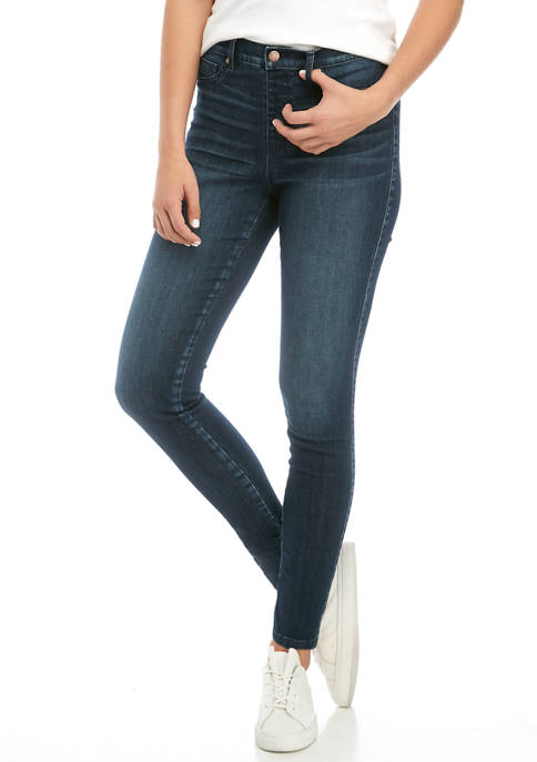 Womens Pull On Skinny Jeans