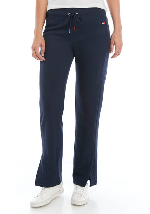 Womens Vented Track Pants with Side Flag Panel