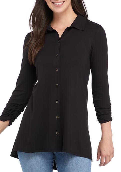 Kim Rogers® Womens Long Hem Tunic