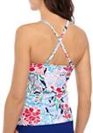 Bouquet Sway High Neck Swim Tankini Top