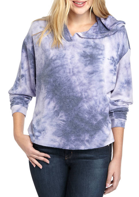 AD Adyson Parker Womens Tie Dye Pull Over