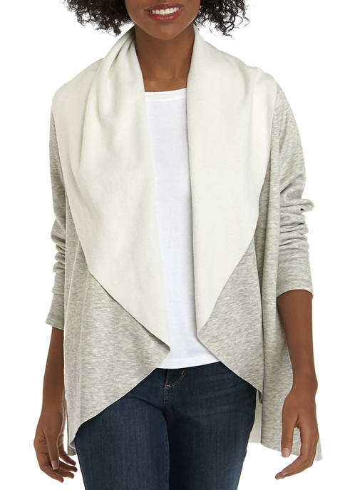 Womens Solid Cardigan