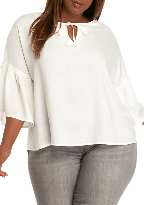 AP by Adyson Parker Plus Size Tiered Sleeve