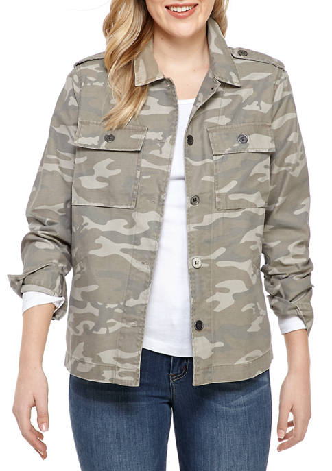 Adyson Parker Womens Camouflage Jacket