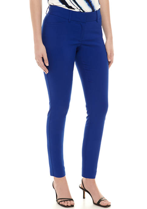 Womens Exact Skinny Ankle Pants