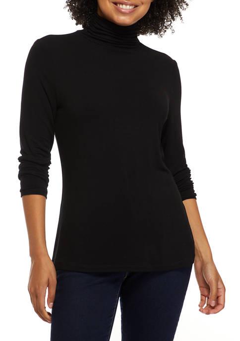 Womens Long Sleeve Turtleneck Sweater