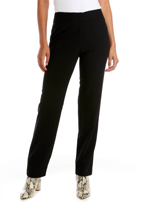 Womens Straight Leg Trousers